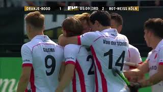 EHL 2016/17 Final HC Oranje-Rood v Rot-Weiss Koln Match Highlights