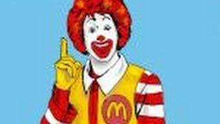 How to draw Ronald Mc Donald