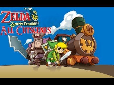 The Legend of Zelda: Spirit Tracks- Cutscenes