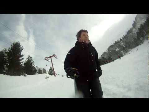 Brezovica Shkurt 2012 - skilifti i vogel (veq) GOPRO HERO HD