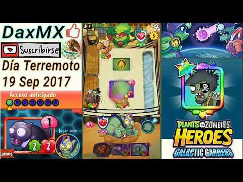 PvZ Heroes | Durante el Terremoto 7.1 CDMX Reto Diario 19/Sep/2017