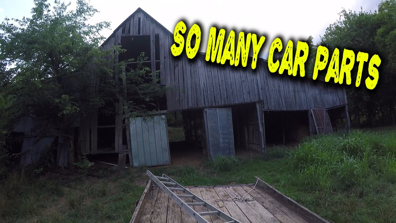 Cleaning a Barn Full of Car Parts
