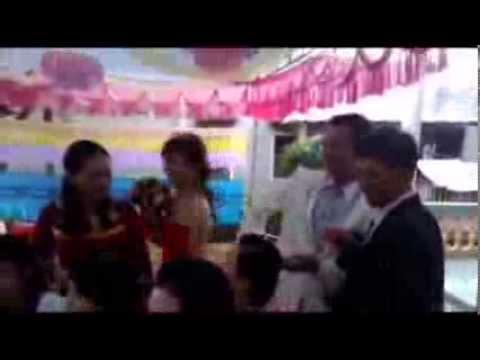 Đám cưới Thúy - Giáp (quay diện thoại...vu vơ) - Eahleo, Đaklak.