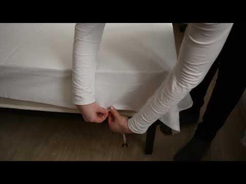 Как закрепить матрас на кровати