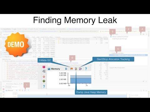 Memory Leak - Part 2, Finding Memory Leak