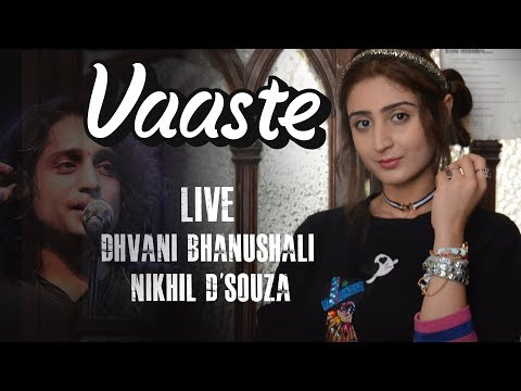 Dhvani Bhanushali & Nikhil D'souza Live - Vaaste 200M Success Party