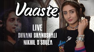 Gambar cover Dhvani Bhanushali & Nikhil D'souza Live - Vaaste 200M Success Party
