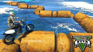 Gambar cover GTA V Online: SKILL TEST na FERRUGEM COM MOTO SANCHEZ!!!