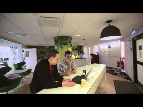 Take a look at the Stockholm Skype office