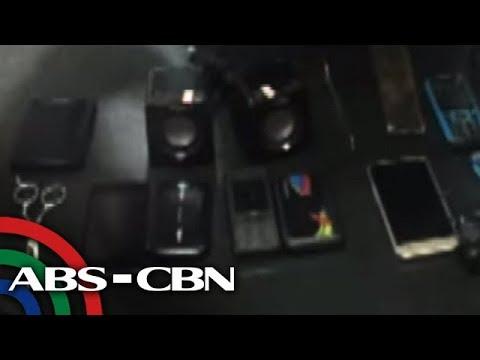 Bandila: Gadgets nakumpiska sa mga bilanggo sa QC