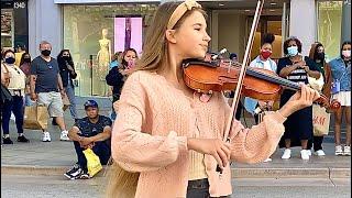 How BEAUTIFUL is she playing violin | 7 years - Lukas Graham | Cover by Karolina Protsenko