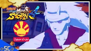 naruto storm 4   rikudou madara juubito vs sharrinegan sasuke japan expo 2015 gameplay 3