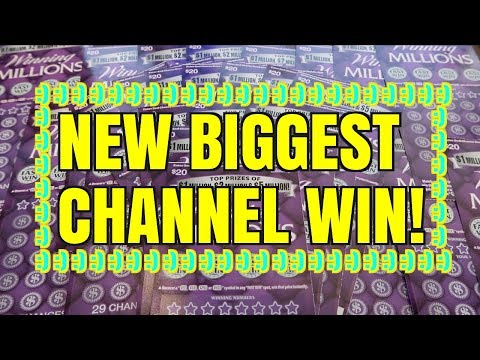 OH HECK YESSS NEW BIGGEST SCRATCHER WIN ON THE CHANNEL!!!