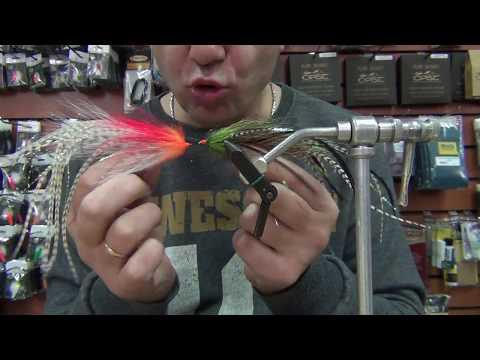 вязание мушек с Fly Fishing ru.