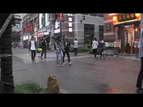People Watching on Macau Street