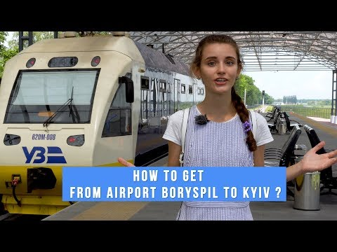 HOW TO GET FROM BORYSPIL INTERNATIONAL AIRPORT TO KIEV UKRIANE | BY TRANSFER TAXI BUS