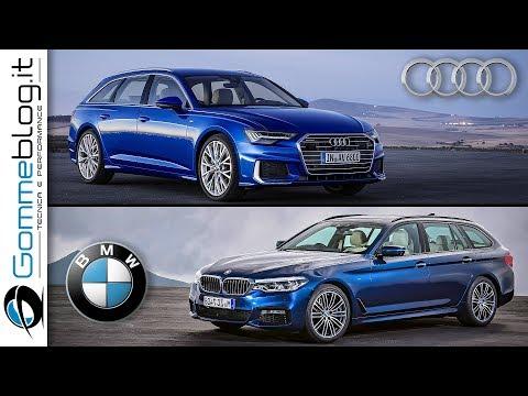 2019 Audi A6 avant vs 2018 BMW 5 Series Touring - INTERIOR EXTERIOR