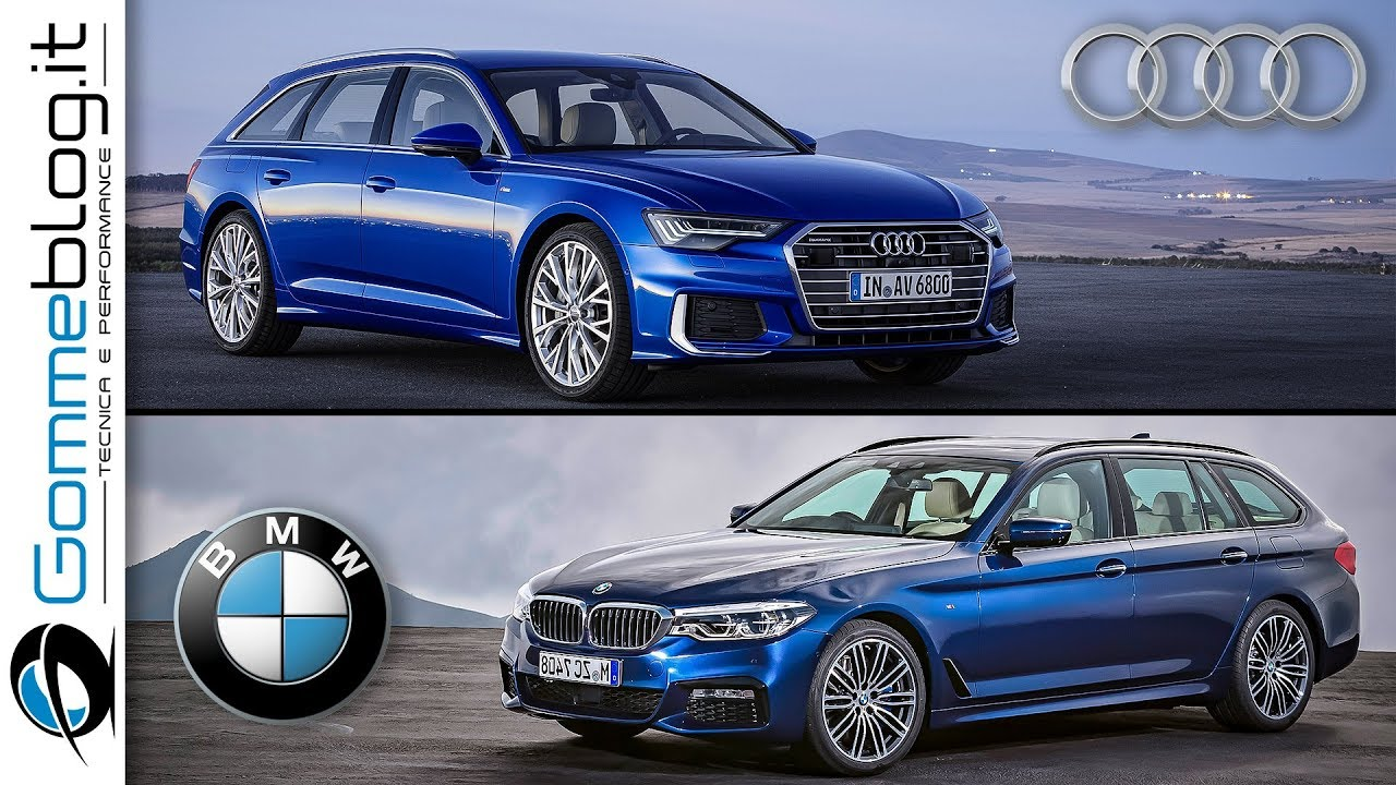2019 Audi A6 Avant Vs 2018 Bmw 5 Series Touring Interior Exterior