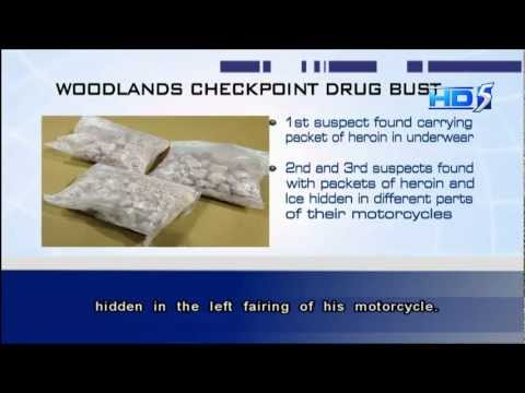 3 suspected drug couriers arrested early morning - 09Feb2013