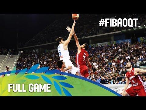Italy v Croatia - Full Game - 2016 FIBA Olympic Qualifying Tournament - Italy