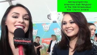 Lab Rats: Elite Force's Kelli Berglund Interview - Alexisjoyvipaccess - Nickelodeon KCA