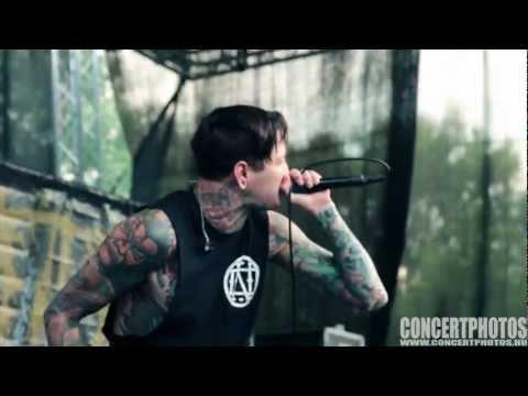 Suicide Silence @ Hegyalja Fesztivál 2012