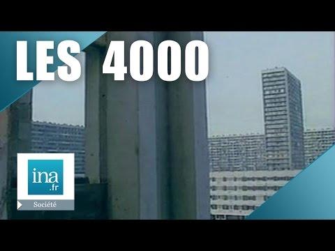 La nouvelle cité des 4000 à La Courneuve en 1989 | Archive INA
