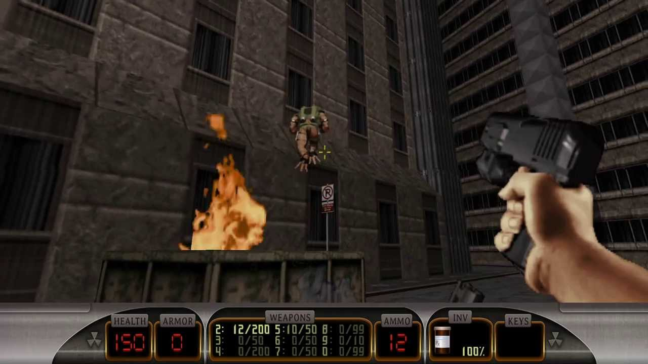 Duke nukem 3d megaton edition walkthrough gameplay part for 3d walkthrough