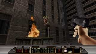 Duke Nukem 3D: Megaton Edition Walkthrough / Gameplay Part 1 Episode 1 Level 1