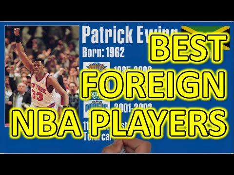 Top 5 NBA - The Best Foreign Basketball Players Of All Time