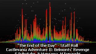 The End of the Day - Staff Roll - Castlevania Adventure II - Belmont's Revenge