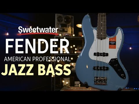 Fender American Professional Jazz Bass Demo