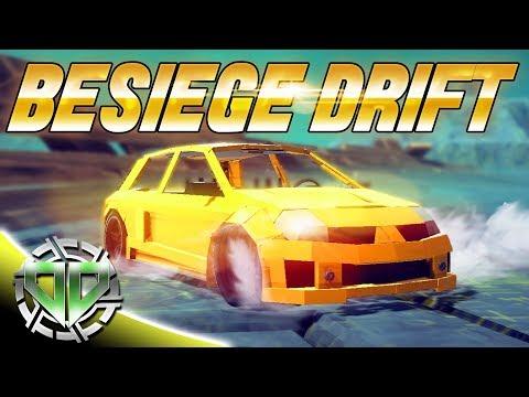 BeSiege Drift Racing : BeSiege Multiverse : PC Best Creations Sandbox Gameplay