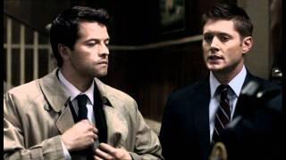 Supernatural - Castiel Funny Moments 1/4 [HD]