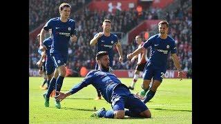 Southampton vs Chelsea 2-3 Giroud's comeback keeps top four
