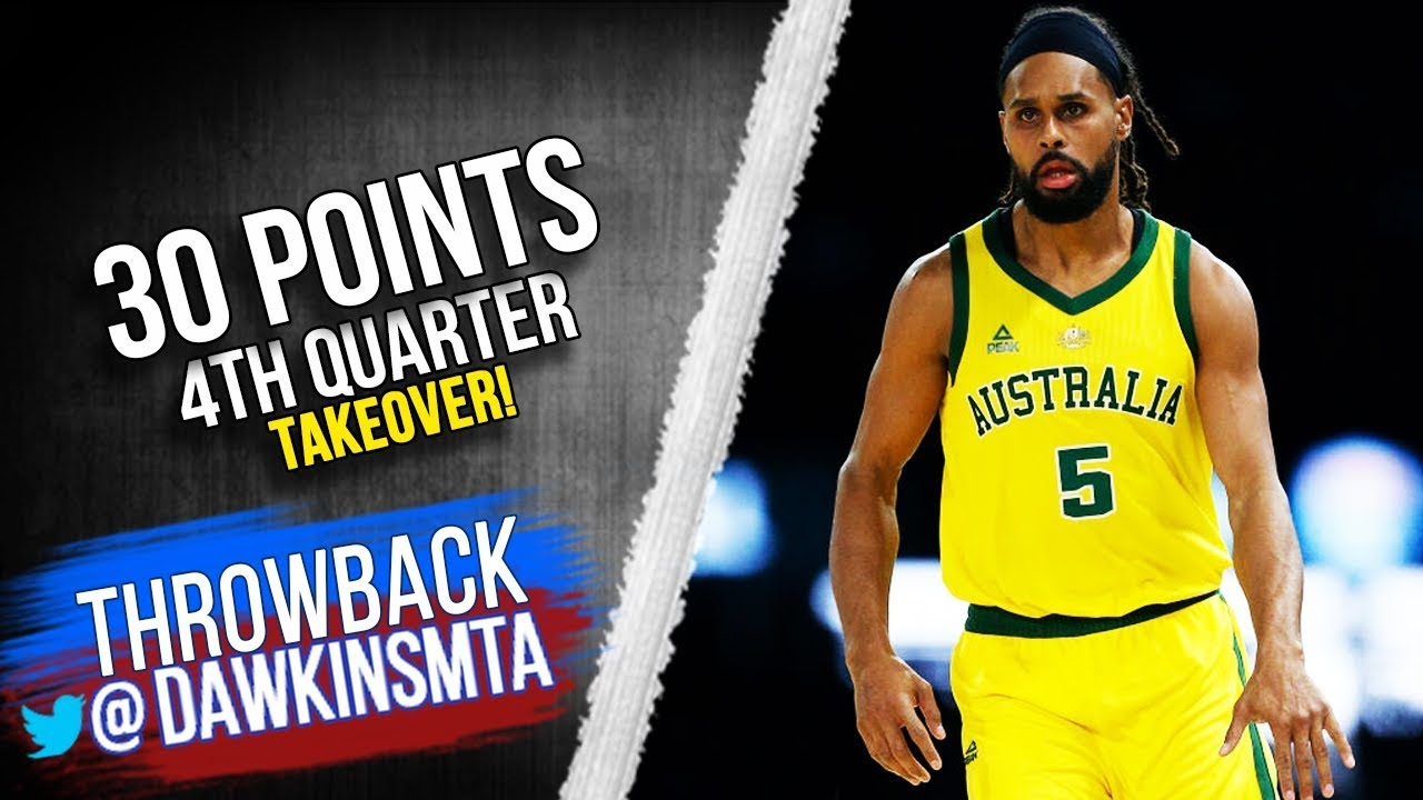 timeless design 64417 cd17c Patty Mills Full Highlights 2019.08.24 Boomers vs USA - 30 Pts, 4th QTR  TakeOver!