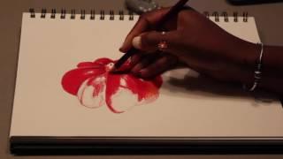 Drawing Pitanga by Inês Melina