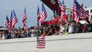 American Legion Riders: The importance of overpass support