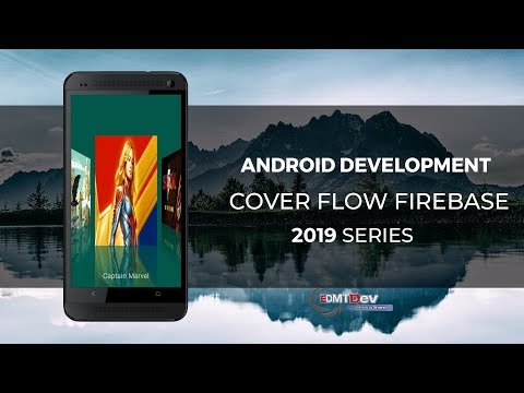 Android Studio Tutorial - Cover Flow with Firebase - YouTube