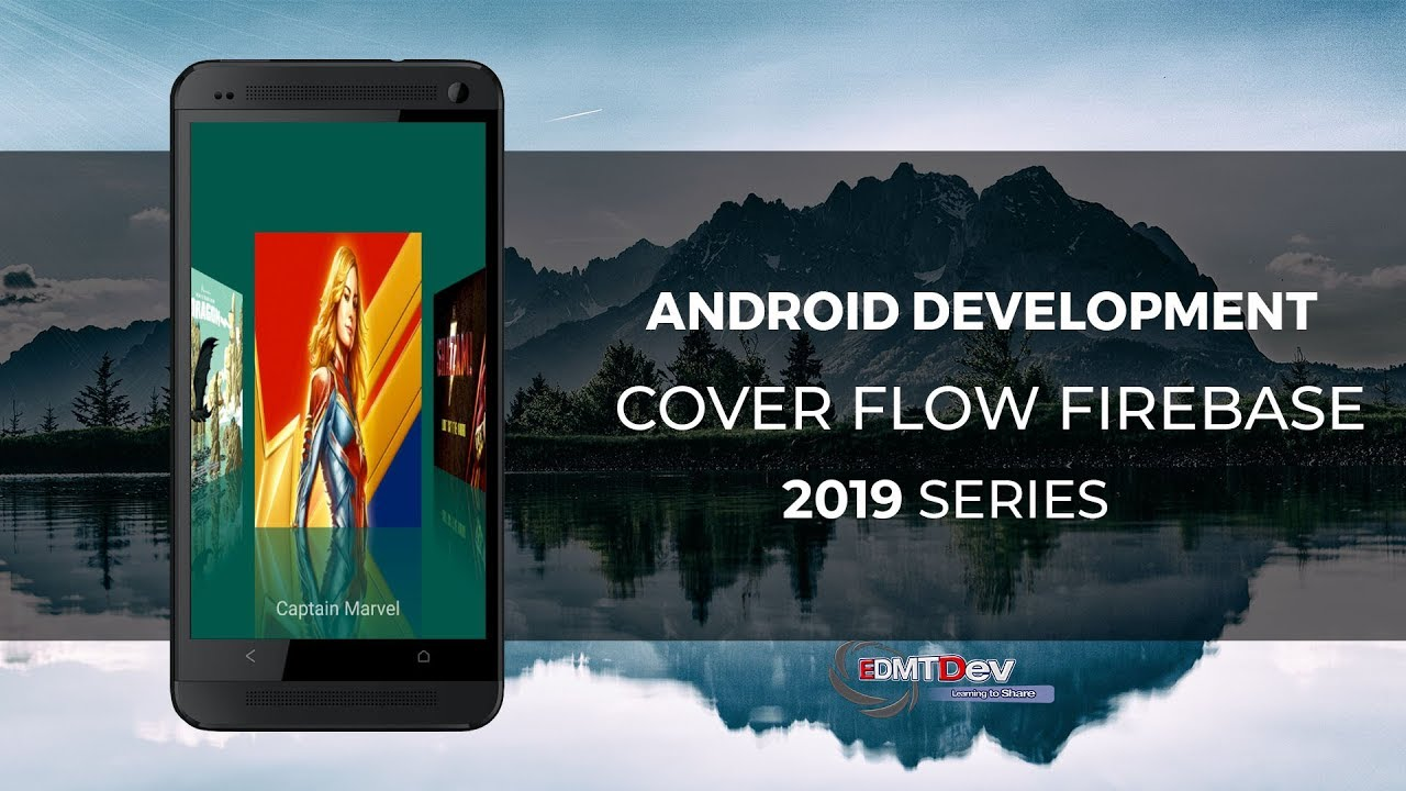 Android Studio Tutorial - Cover Flow with Firebase