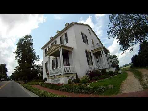 Smithfield, Virginia.  A scenic stretch of road.