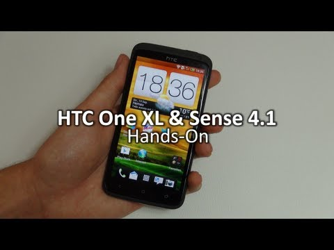Hands-On: HTC One XL & Sense 4.1 | SwagTab