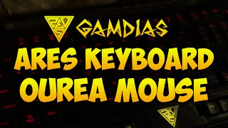 GAMDIAS Ares Keyboard and Ourea Mouse Review