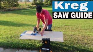 KREG RIP-CUT CIRCULAR SAW GUIDE REVIEW KMA2685