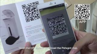 Petwant smart pet feeder PF 103 how-to video