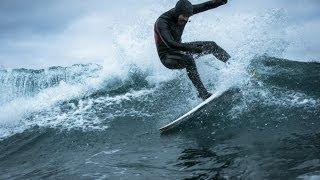 The journey to surf Antarctica