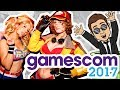 NICE & SEXY! | Best GAMESCOM 2017 moments | NEW GAMES & COSPLAY | Ländle Gamer @ Köln