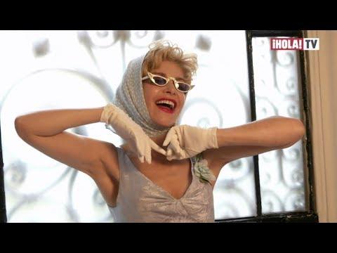 """Itatí Cantoral como Silvia Pinal: """"Lo mejor que me ha pasado en mi carrera""""  La Hora ¡HOLA!"""