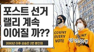 [미국주식 라이브] 포스트 선거 랠리 언제까지 이어질 수국주식 라이브] 포스트 선거 랠리 언제까지 이어질 수 있을까? 비트코인?
