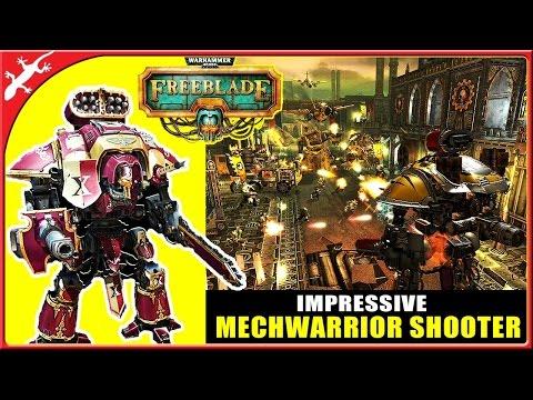 Warhammer 40,000: Freeblade - Impressive Mechwarrior Shooter (ios Gameplay)